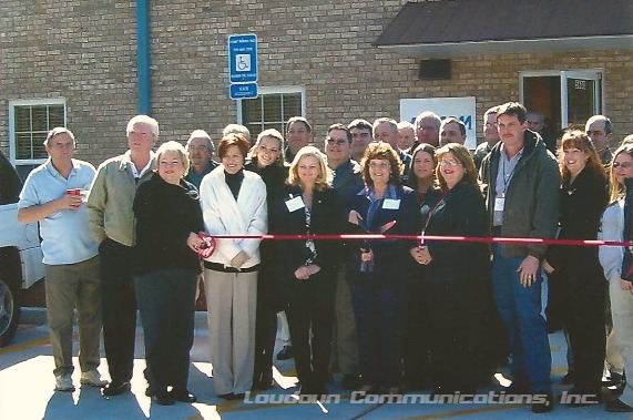 ribbon cutting loudoun communications